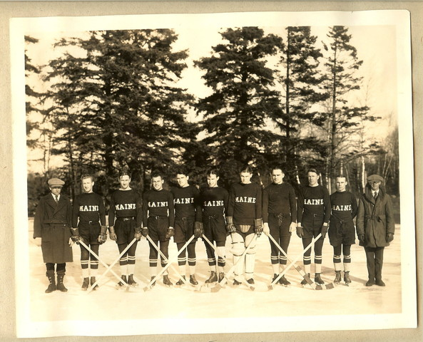 University of Maine - Black Bears Ice Hockey Team - 1924