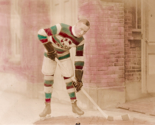 Frank Foyston Seattle Metropolitans - Stanley Cup Champion 1917