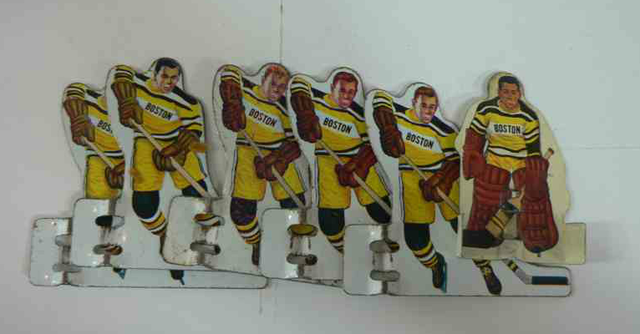 Boston Bruins - Table Hockey Players - Early 1960s