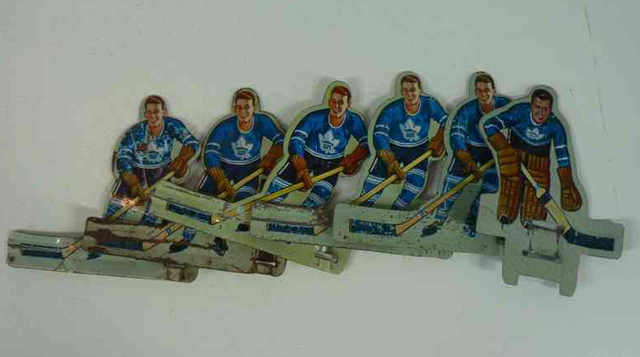 Toronto Maple Leafs Table Hockey Players - Early 1960s