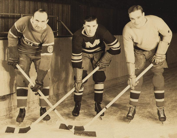 Howie Morenz - Hooley Smith - Charlie Conacher - 1930s