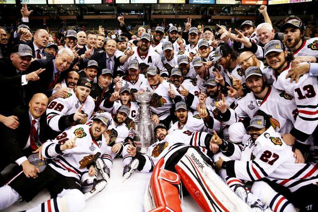 Chicago Blackhawks - Stanley Cup Champions - 2013