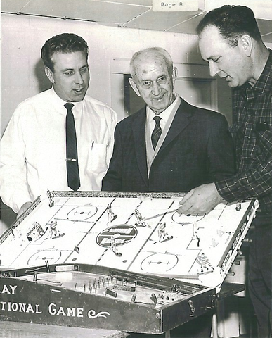 Table Hockey History - The Munro Family - Antique Table Hockey
