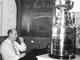 Punch Imlach with the Stanley Cup - No Practice Tomorrow - 1967