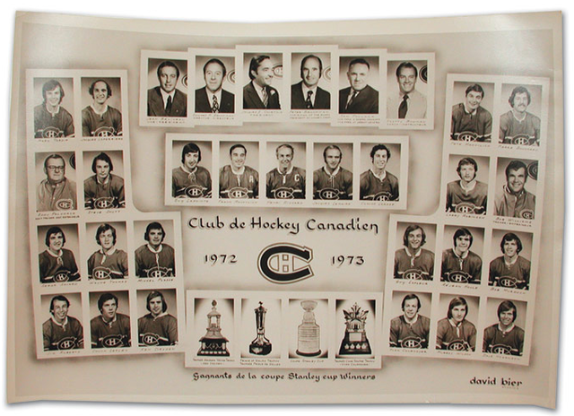 Montreal Canadiens - Stanley Cup Champions 1973