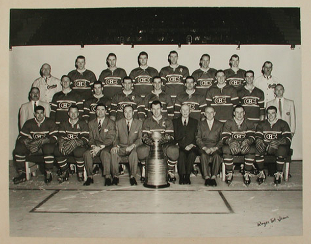 Montreal Canadiens - Stanley Cup Champions 1956