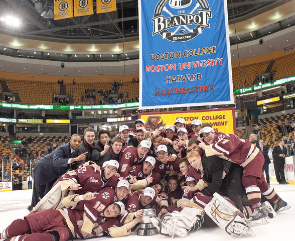 Boston College Eagles - 2010 Boston Beanpot Champions