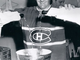 Rocket Richard Pours Champagne into The Real Stanley Cup - 1957