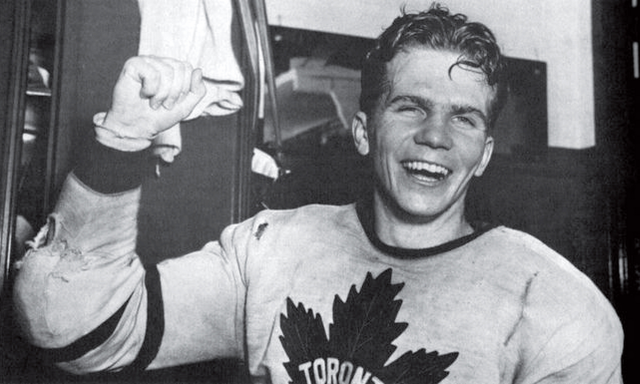 Bill Barilko - Happy After Scoring Stanley Cup Winning Goal 1951