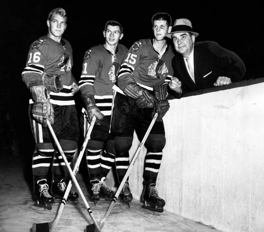 Chicago BlackHawks History - Hull, Mikita, Nesterenko & Pilous