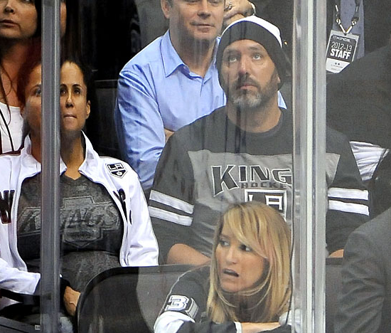 Trey Parker & Boogie Tillmon at 2013 NHL Playoff's Game