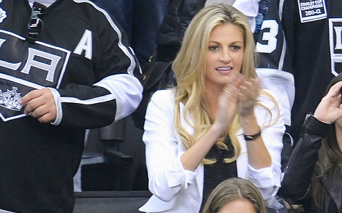 Erin Andrews at LA Kings - St Louis Blues 2013 NHL Playoffs Game