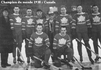 1930 World Ice Hockey Champions - Team Canada - Toronto CCMs
