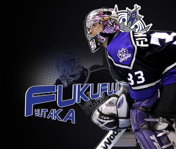 Yutaka Fukufuji - 1st Japanese Player to Start a NHL Game - 2007