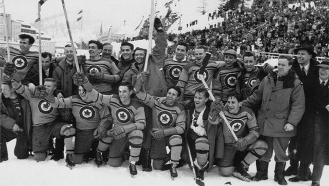 1948 Team Canada - RCAF Flyers - Winter Olympic Hockey Champions