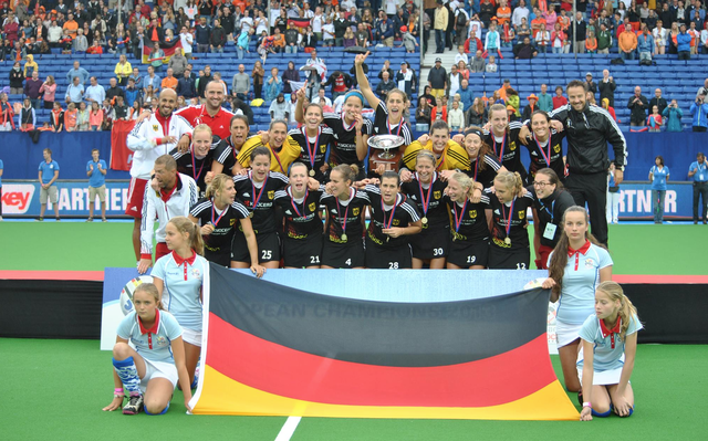 Women's TriFinance EuroHockey 2013 Champions - Germany