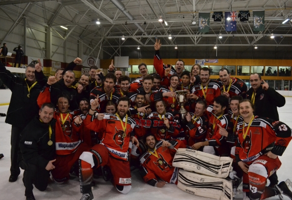 Canterbury Red Devils - New Zealand Ice Hockey League Champions