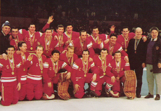1968 Winter Olympics Champions - CCCP Soviet Union National Team