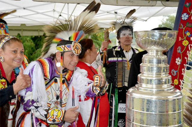 The Stanley Cup at 60th Annual Chicago PowWow - 2013