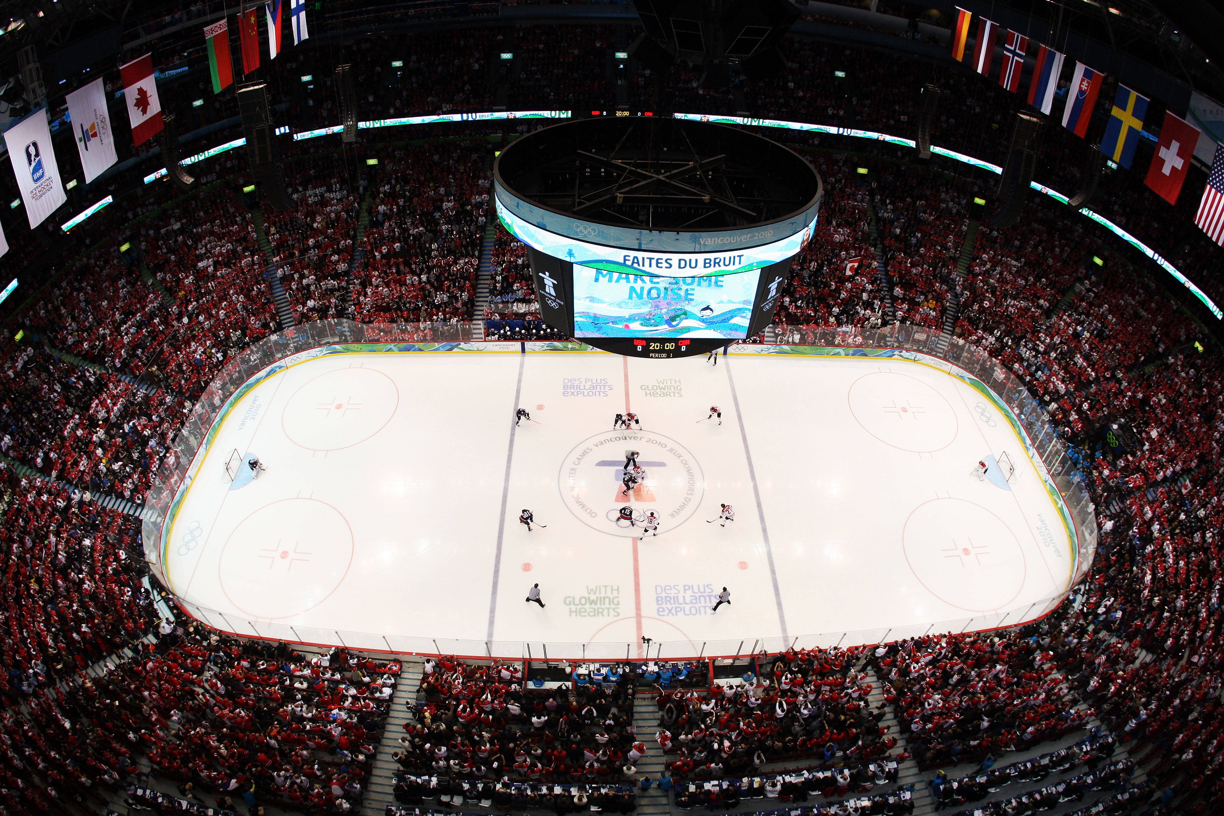 2010 Winter Olympics Hockey Gold Medal Game - Opening ...