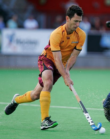 Jamie Dwyer in Action - Queensland Blades - 2013