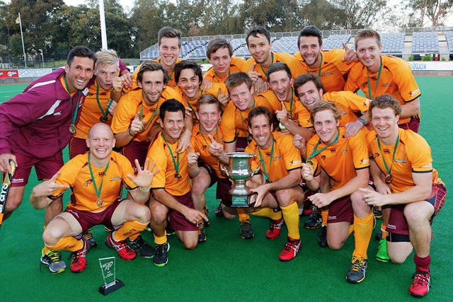 Australia Hockey League Champions 2013 - Queensland Blades