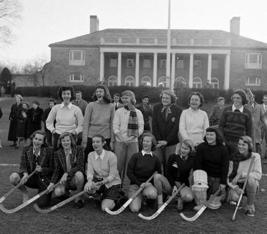 Vintage Field Hockey - Princeton & Sarah Lawrence College - 1948