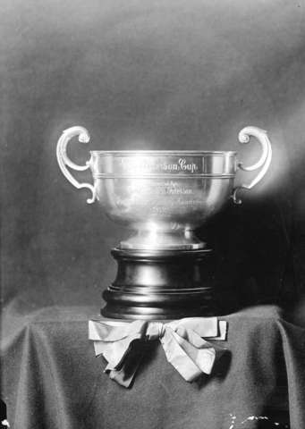 The Paterson Cup - Pacific Coast Hockey Association Trophy 1912