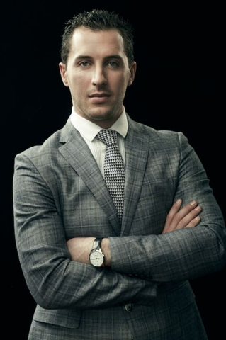 Ryan Callahan Looking Stylish in a Blazer by Etro - 2013