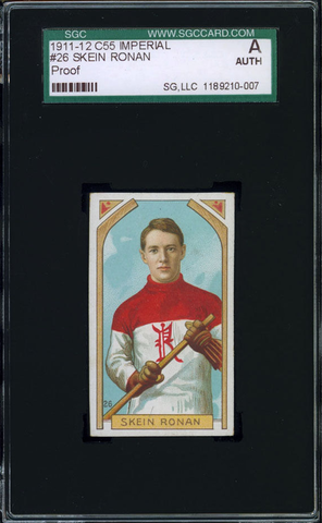 Skein Ronan Hockey Card #26 - Proof - Imperial Tobacco - 1911