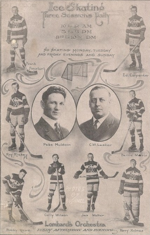 Seattle Metropolitans - Program Cover - 1916-17 Season
