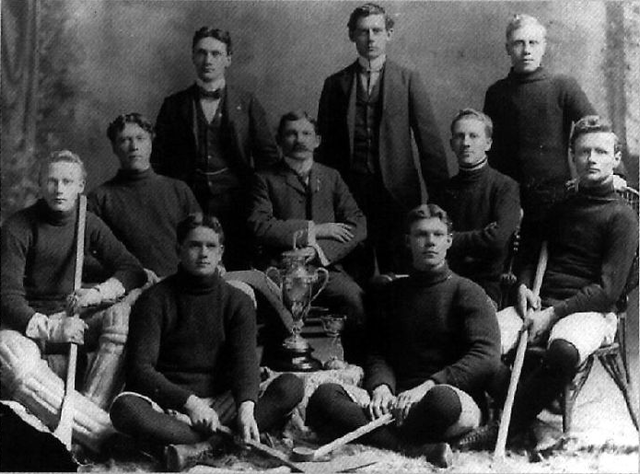 Viking Hockey Club - Champions of Manitoba Icelandic League 1899