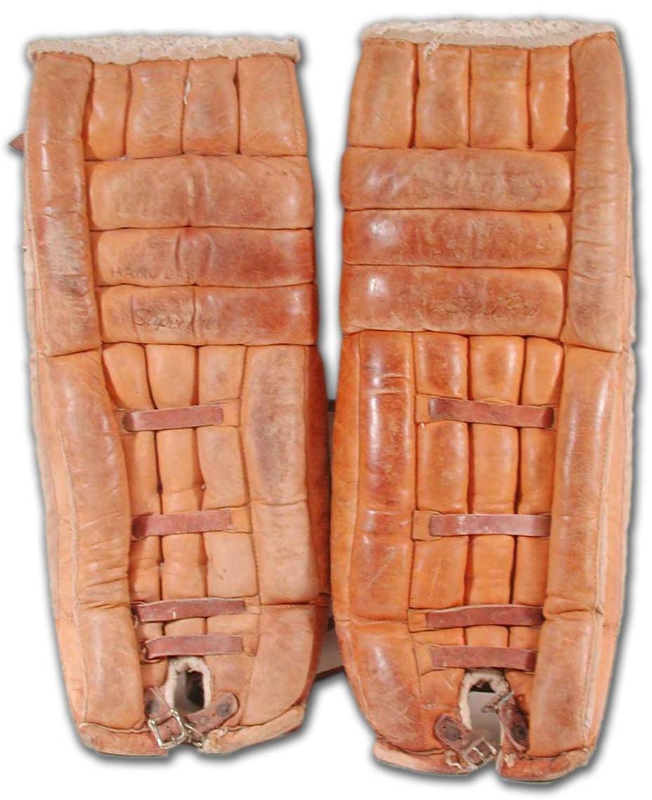 Vintage Cooper Super Pro Goalie Pads Late 1960s Hockeygods