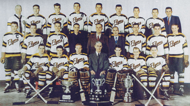 Barrie Flyers - 1951 Memorial Cup Champions