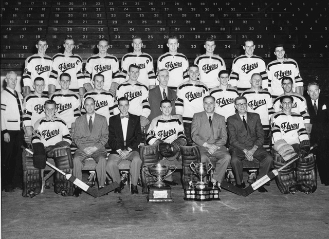 Barrie Flyers - 1953 Memorial Cup Champions