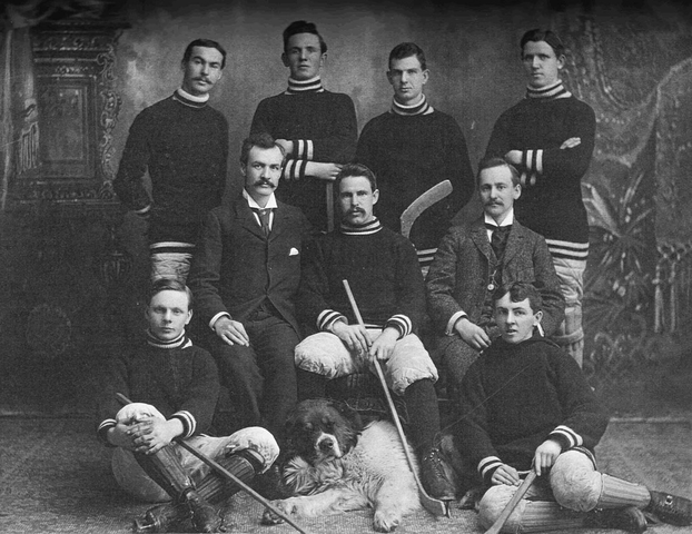 Barrie Hockey Club - Northern Ontario Champions - 1897