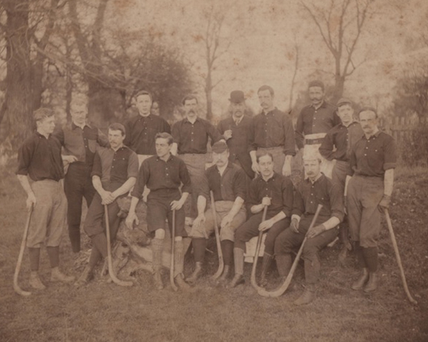 Oldest Mens Field Hockey Photo - Southgate Second XI - 1893