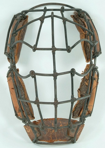 Oldest Catcher's Mask / Oldest Hockey Mask -  circa 1880