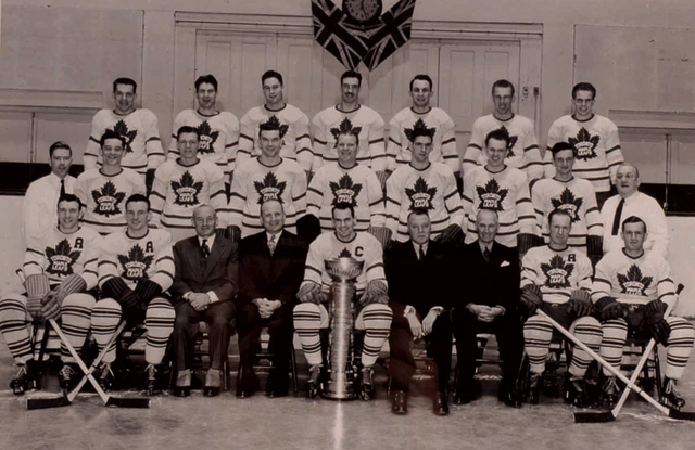 Toronto Maple Leafs - Stanley Cup Champions 1947