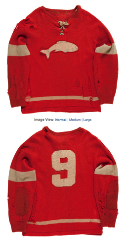 Selkirk Fishermen Game Worn Jersey - 1955-56 Season