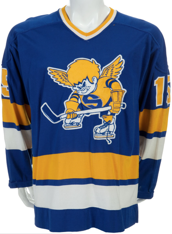 Minnesota Fighting Saints Jersey - 1974 WHA Season