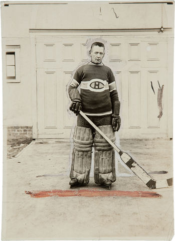 Georges Vézina - Montreal Canadiens - 1925 - Press Photo