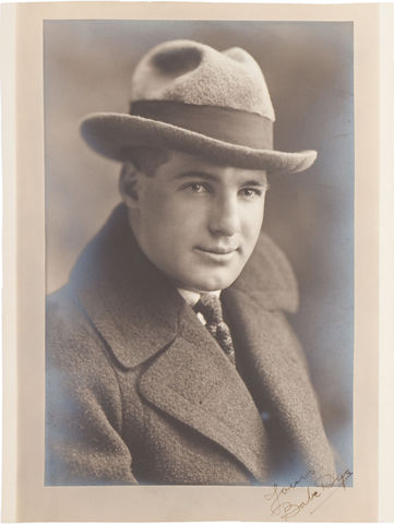 Babe Dye Autographed Photo - 1920s