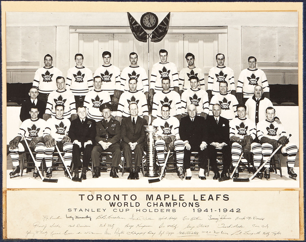 Toronto Maple Leafs - Stanley Cup Champions - 1942