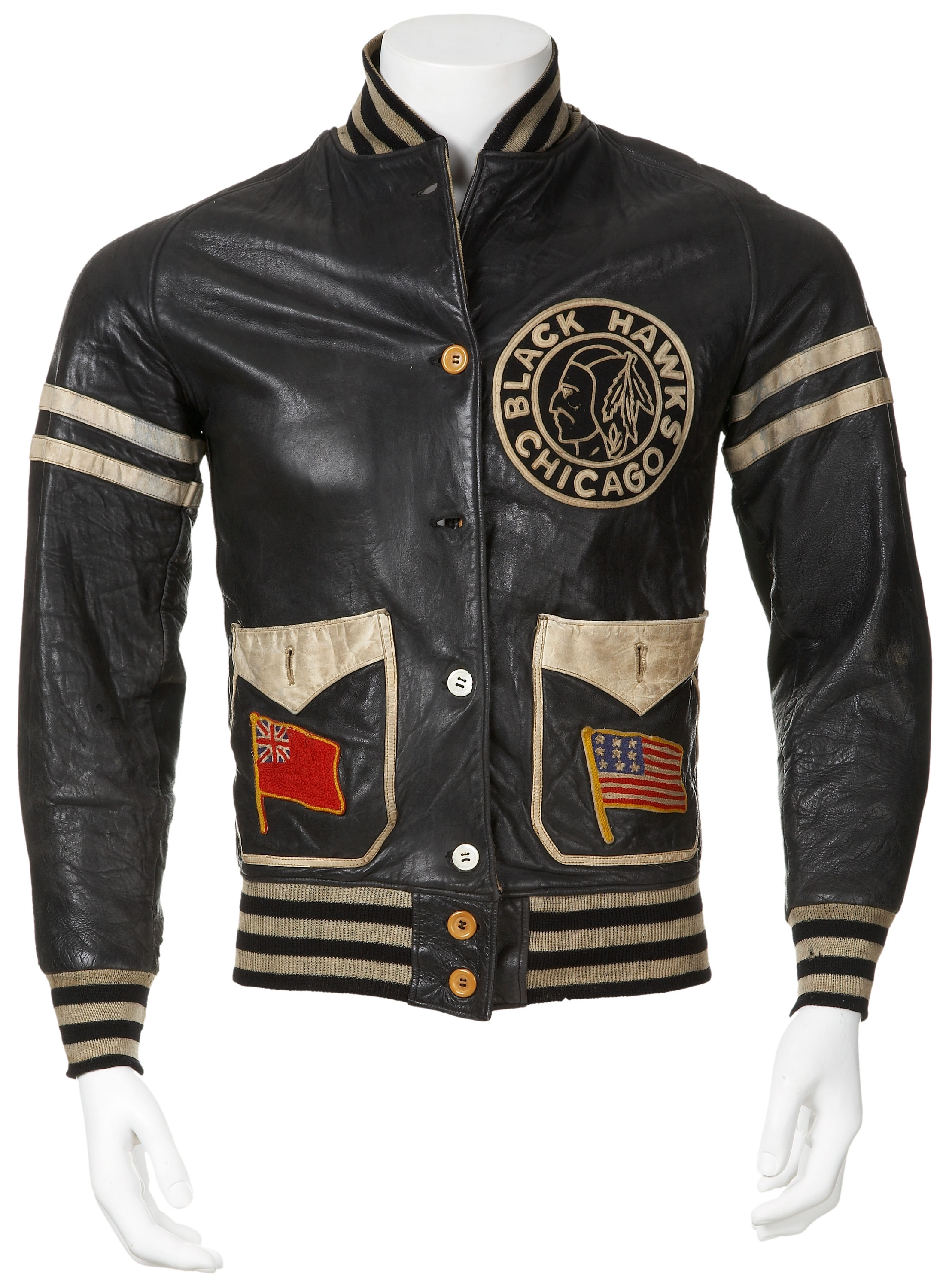 Mush March Chicago Blackhawks Jacket For Winning Stanley Cup ... 95c589969