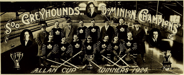 Soo Greyhounds - Allan Cup Champions - 1924