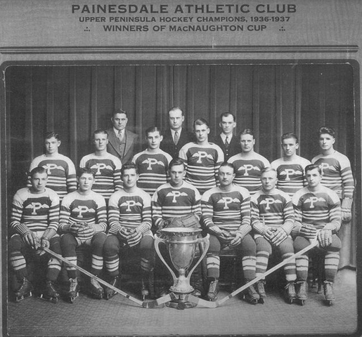 Painesdale Athletic Club - MacNaughton Cup Champions - 1937