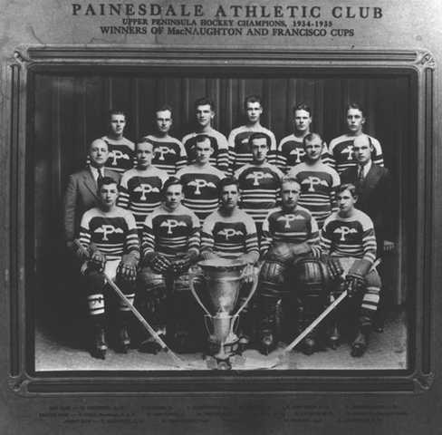 Painesdale Athletic Club - MacNaughton Cup Champions - 1935