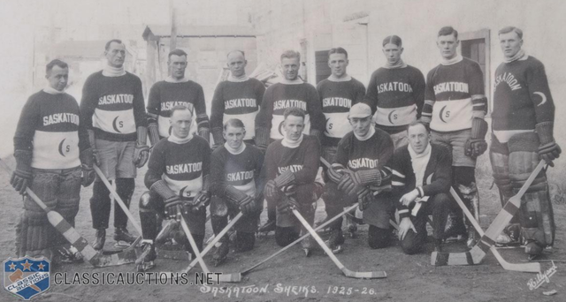 Saskatoon Sheiks - Team Photo - 1925