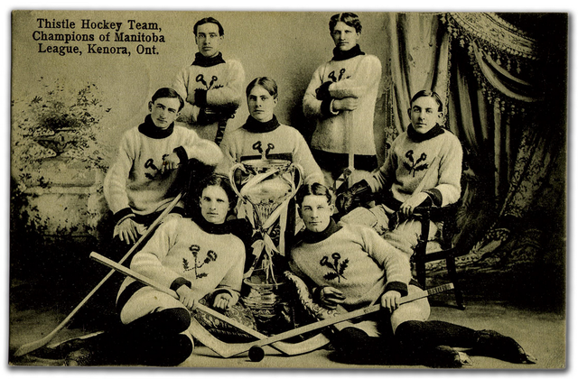 Kenora Thistles - Manitoba Hockey League Champions 1906